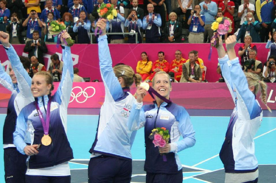 Håndballens Venner i London 2011 - Jentene vinner gull!