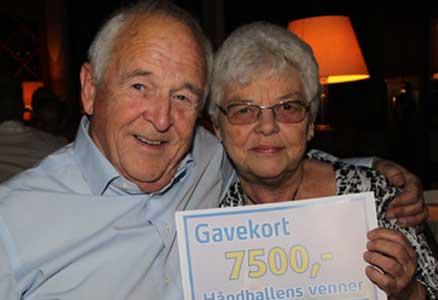 Astrid Gjerstad var en av de heldige vinnerene av gavekort