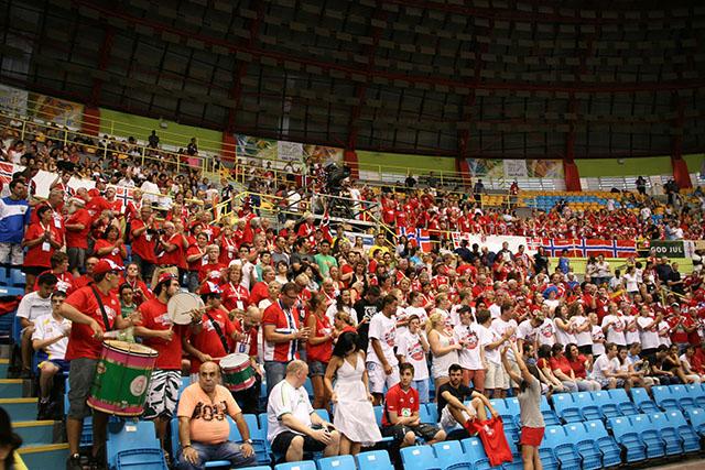 Håndballens Venner støtter opp i VM Brasil 2011
